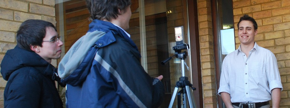 making films for your business, part of Green Shoots communication skills training course