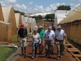 UK Farmers visiting Real IPM Kenya to understand biological control of pests