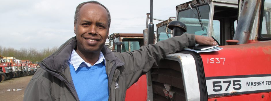 BBC WS Follow That Tractor 8 - Abdi Mohammed - looking for a tractor to help in the rebuild of a nation in Somalia