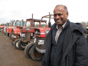 Harsh Dharmawardene - the tractor dealer who exported a thousand Massey Fergusons in a decades