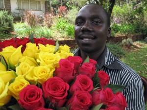 reducing water use per rose bloom