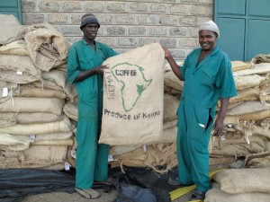 Kenyan coffee exports are rising