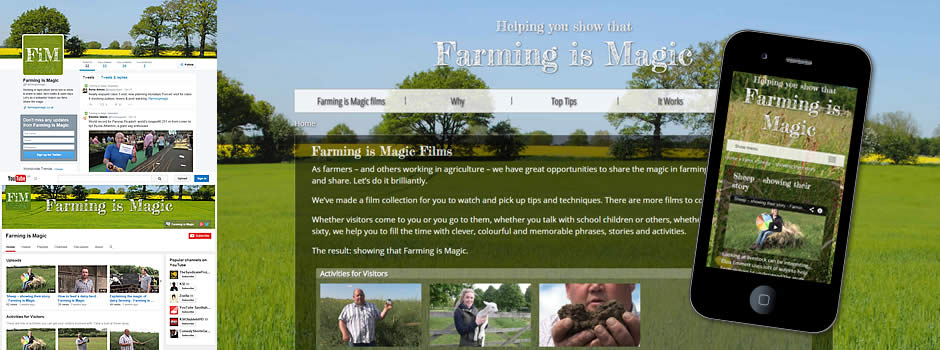 Website to help explain the magic of farming