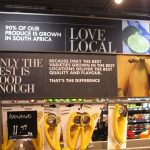 Fresh produce on sale in international supermarket of the year 2014, Woolworths South Africa