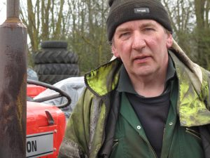 John Mitcham, Tractor Dismantler