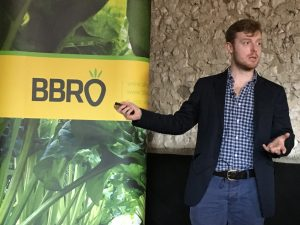 PhD student Jake Richards telling the inside story of his research into cover crops with flair, props, humour and charm.