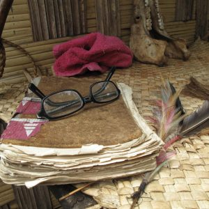 The art of conversation is alive and well in Vanuatu where books, part from the bible and text books, are scarce.