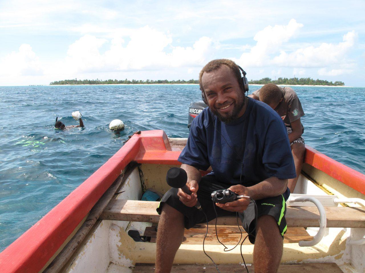 Demystifying making radio: AKA Mystery Island