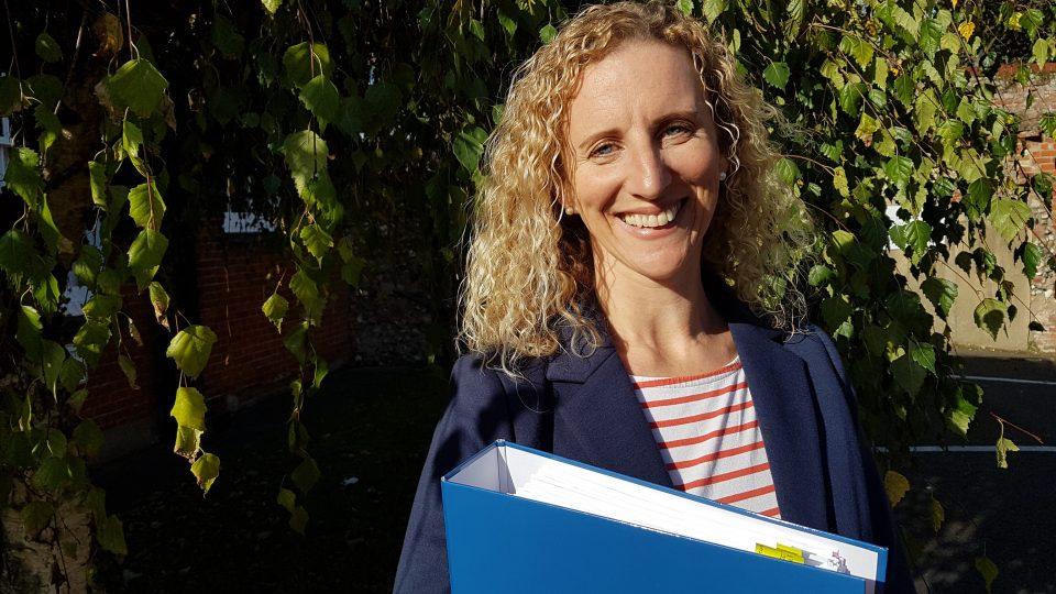 Hannah Stevenson in Green Shoots film on career as farm business administration