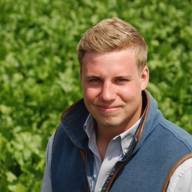 Lee Oxborough, Trials Officer with BBRO - Green Shoots image